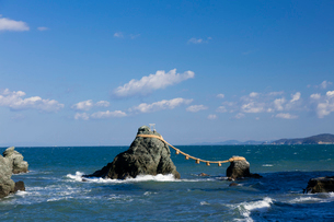 夫婦岩の写真素材 [FYI01620065]