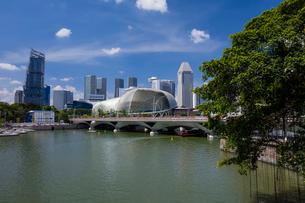 シンガポール川の写真素材 [FYI01620101]