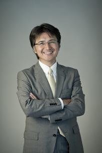 ビジネスマンのポートレートの写真素材 [FYI01620284]