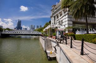 シンガポール川の写真素材 [FYI01620349]