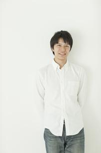 笑顔の男性の写真素材 [FYI01620469]