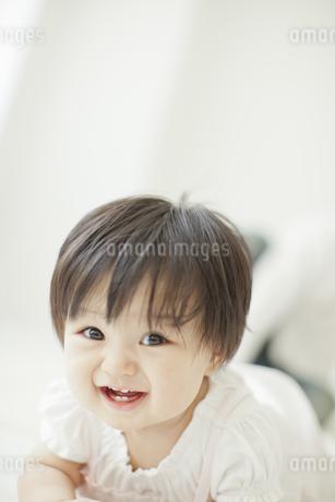 笑顔の赤ちゃんの写真素材 [FYI01620491]