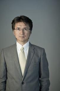 ビジネスマンのポートレートの写真素材 [FYI01620523]
