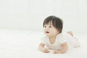 はいはいをする赤ちゃんの写真素材 [FYI01620644]