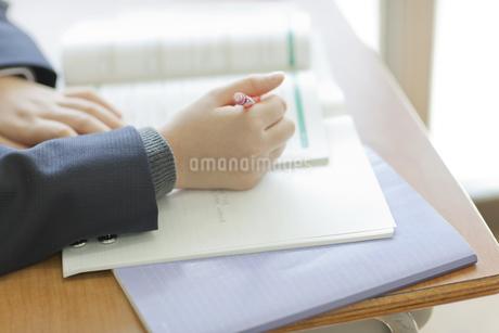 勉強する女子校生の写真素材 [FYI01620739]