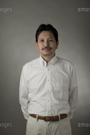 シニア男性のポートレートの写真素材 [FYI01621046]