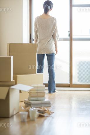引っ越しイメージの写真素材 [FYI01621299]