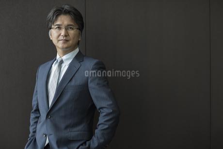 中高年のビジネスマンのポートレートの写真素材 [FYI01621668]
