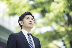 日本人ビジネスマンの写真素材 [FYI01621829]