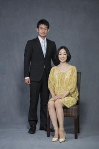 夫婦のポートレートの写真素材 [FYI01621885]