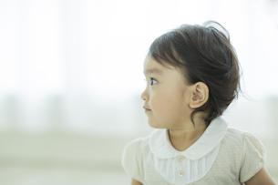 赤ちゃんの横顔の写真素材 [FYI01622013]