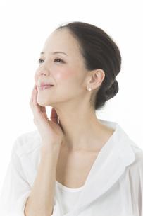 中年女性の美容イメージの写真素材 [FYI01622103]