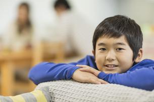 笑顔の男の子の写真素材 [FYI01622185]