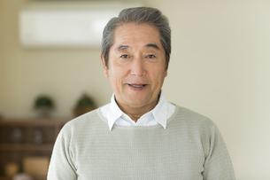笑顔のシニア男性の写真素材 [FYI01622743]
