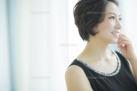 笑顔の女性の写真素材 [FYI01622835]
