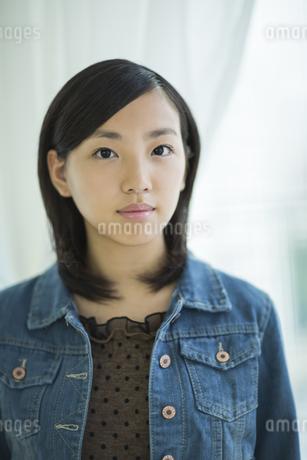 女子高校生のポートレートの写真素材 [FYI01622991]