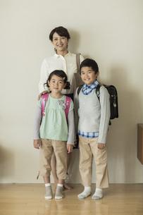 親子のポートレートの写真素材 [FYI01623523]