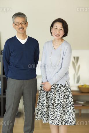 笑顔のシニア夫婦の写真素材 [FYI01623682]