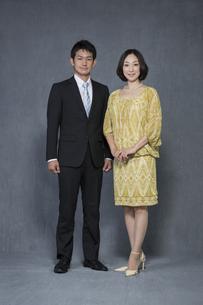 夫婦のポートレートの写真素材 [FYI01623982]
