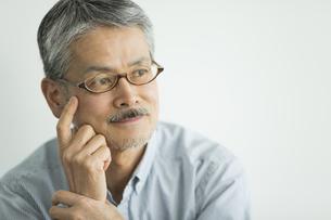 日本人シニア男性の写真素材 [FYI01624016]