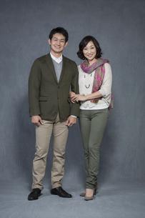 夫婦のポートレートの写真素材 [FYI01624142]