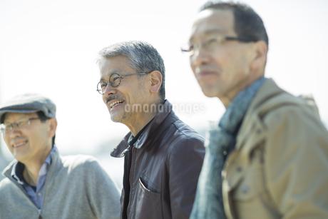 笑顔のシニア男性の写真素材 [FYI01624194]
