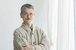 日本人シニア男性の写真素材 [FYI01624397]