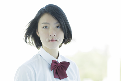日本人女子校生の写真素材 [FYI01624504]
