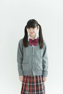 笑顔の女子中学生の写真素材 [FYI01624522]