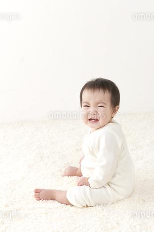 泣く赤ちゃんの写真素材 [FYI01624659]