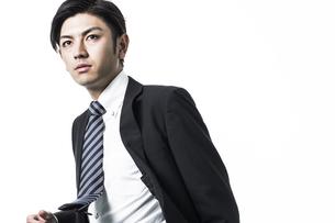 日本人ビジネスマンの写真素材 [FYI01624687]