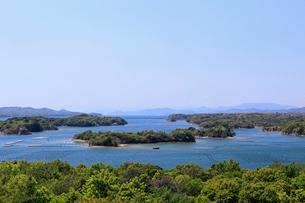 ともやま公園桐垣展望台より英虞湾を望むの写真素材 [FYI01624822]