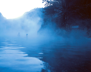 川湯温泉の仙人風呂の写真素材 [FYI01624837]