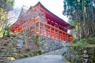 比叡山延暦寺横川の横川中堂の写真素材 [FYI01625607]