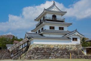 白石城三階櫓の写真素材 [FYI01625825]
