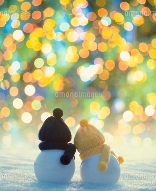 雪だるまの写真素材 [FYI01626029]