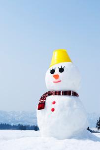 雪だるまの写真素材 [FYI01626330]