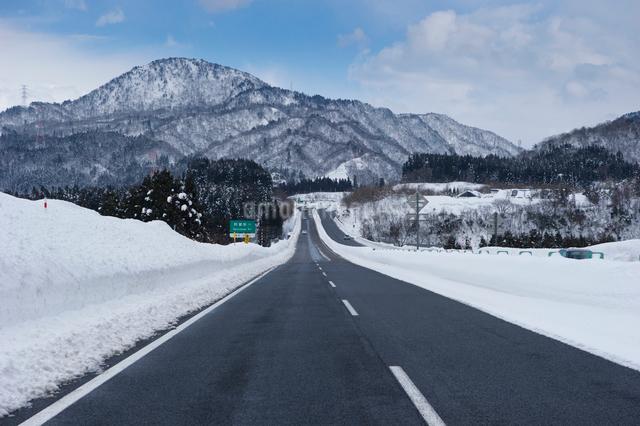 磐越自動車道の写真素材 [FYI01626518]