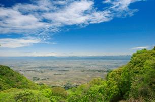 弥彦山より蒲原平野の写真素材 [FYI01626529]