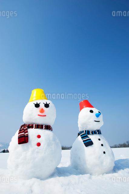 雪だるまの写真素材 [FYI01626581]