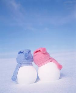 雪だるまの写真素材 [FYI01626695]