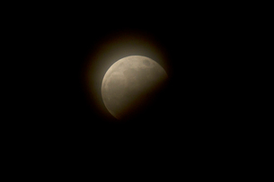 部分月食の写真素材 [FYI01626865]
