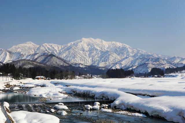 雪の守門岳の写真素材 [FYI01626894]