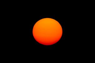 夕日の写真素材 [FYI01626895]