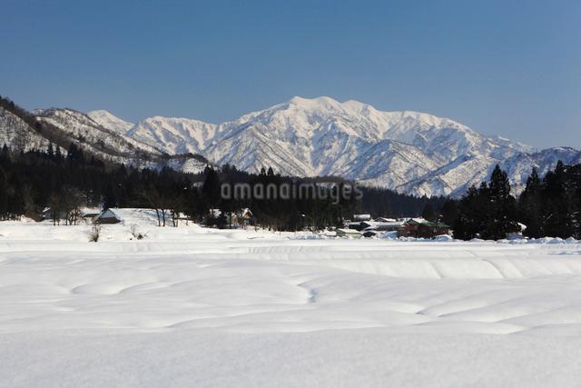 雪の守門岳の写真素材 [FYI01626913]