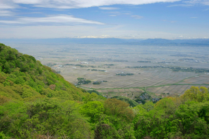 弥彦山より蒲原平野の写真素材 [FYI01626965]