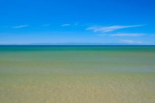 青空と日本海の写真素材 [FYI01627077]