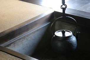 囲炉裏の写真素材 [FYI01627108]