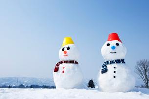 雪だるまの写真素材 [FYI01627226]