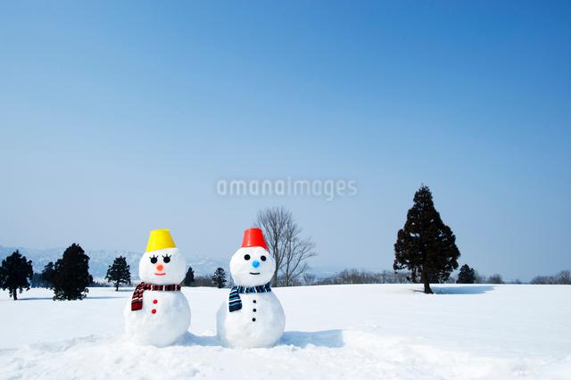 雪だるまの写真素材 [FYI01627329]
